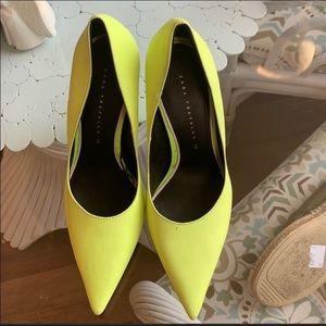 Zara Yellow Pumps/Heels